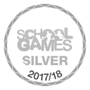 School Games - Silver 2017/18 logo